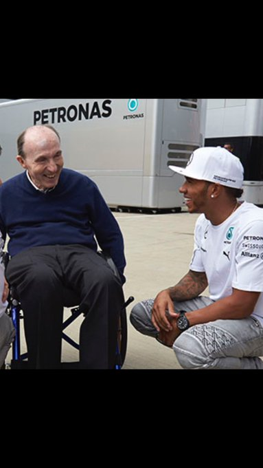 Happy 75th birthday to Sir Frank Williams, Let\s hope your get you some  today