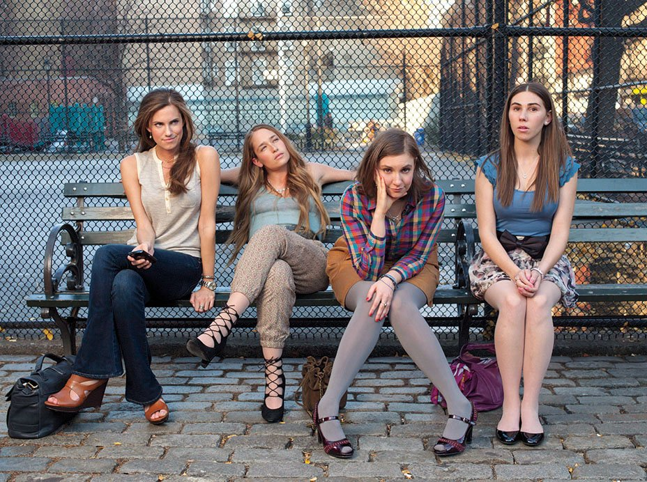 .@LenaDunham was 23 when she sold #Girls to HBO with a page-and-a-half-long pitch, without a character nor a plot
