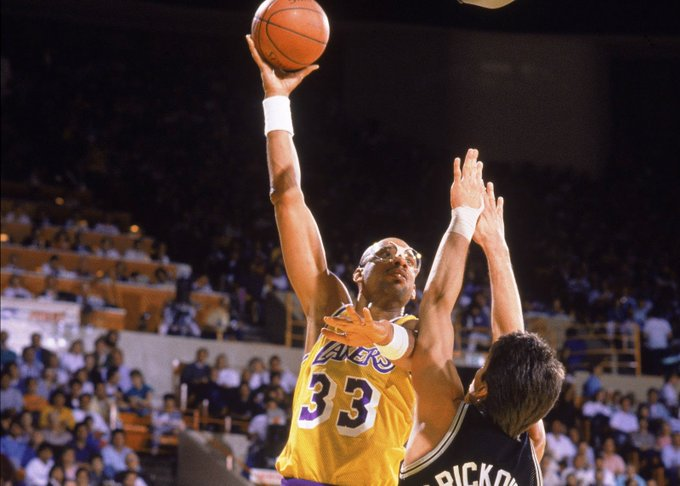 THE G.O.A.T  Happy Birthday Kareem Abdul-Jabbar !