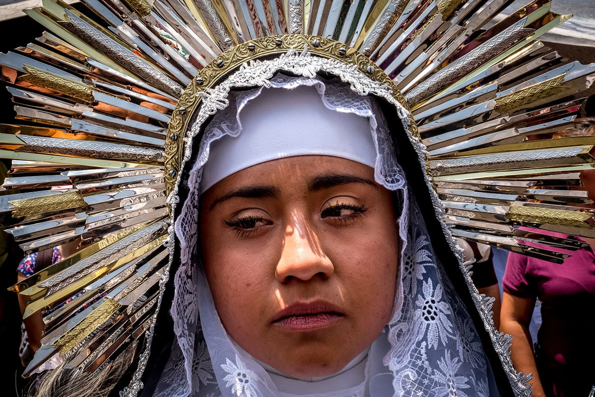 HappyEaster as Mexico City re-enacts the Crucifixion of Jesus Christ