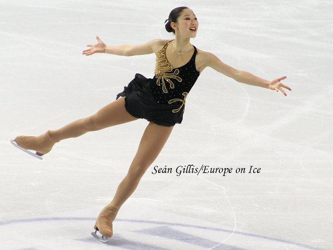 Happy birthday to Mirai Nagasu  who turns 24 today!  Photo: Torino 2010