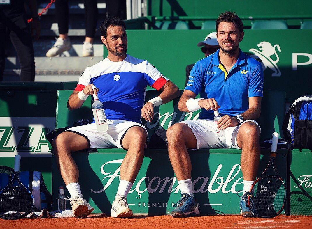 Grazie grande @fabiofogna !! Great win in doubles!! ゚ムマ゚マᄏ゚メᆰ゚マᄏ゚ᄂワ゚マᄏ゚メᆬ゚ᄂロ゚マᄏ゚ホᄒ゚モᄌ゚ᄂヤ゚ルト゚ミᆪ゚ヘᆱ゚リリ゚ミᄐ゚ミᄏ  #monaco #tennis #fognini #wawrinka https://t.co/Er6XGxuCt7
