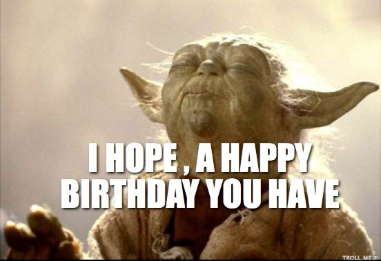 Happy Birthday to Tom Kane. Yoda, Utonium, Ultron... a gentleman and VO wizard. Cheers, TK!