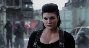 Happy Birthday To Gina Carano, you\re a serious badass!  Grrrl Power!
