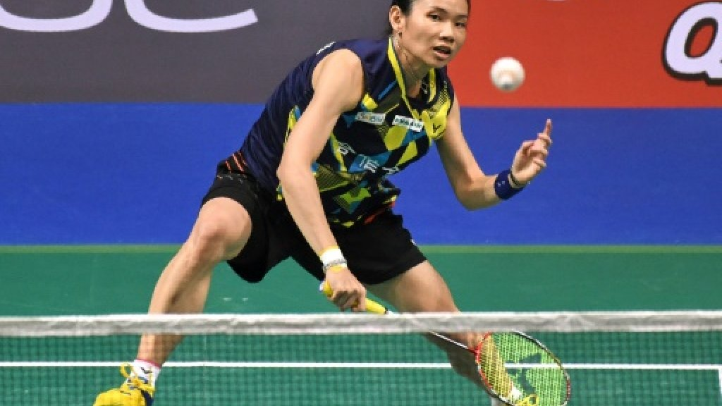 Taiwan's Tai beats Marin to win Singapore Open