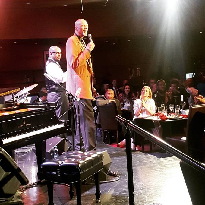 Happy Bday, Kareem Abdul Jabbar!!! (at Dizzy s Club Coca-Cola)