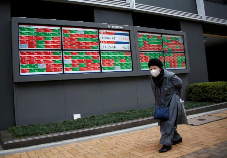 Asia stocks, dollar under pressure after soft U.S. data