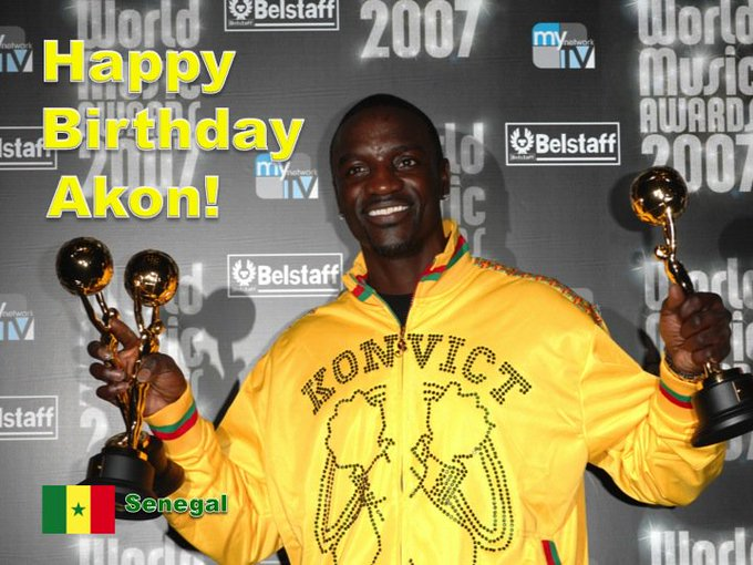 Happy 44th Birthday to World Music Awards Multiple Winner