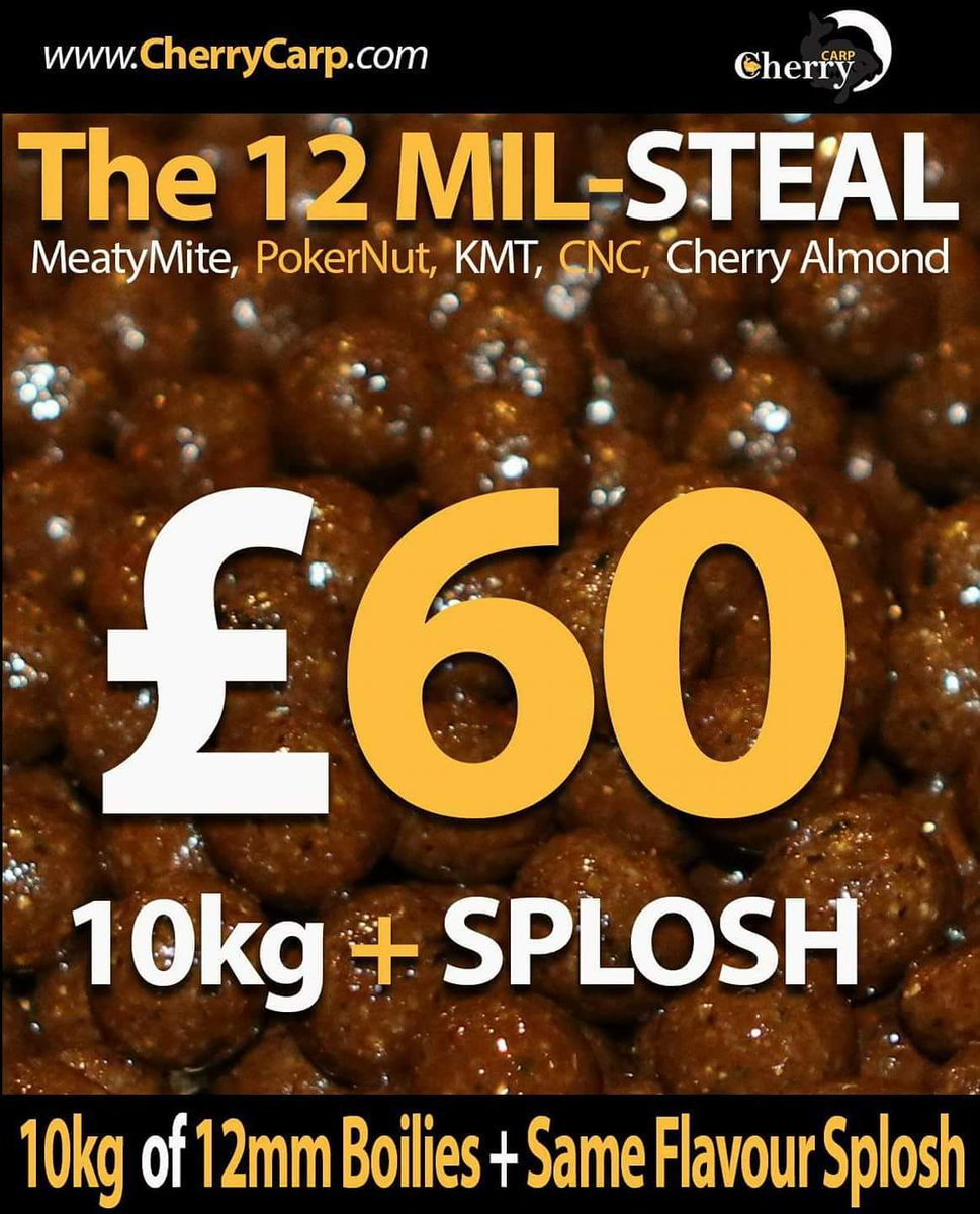 The 12mm steal https://t.co/7i9ET7m5hR great for <b>Pcs</b> bags or in your spod mix @cherry_carp #b