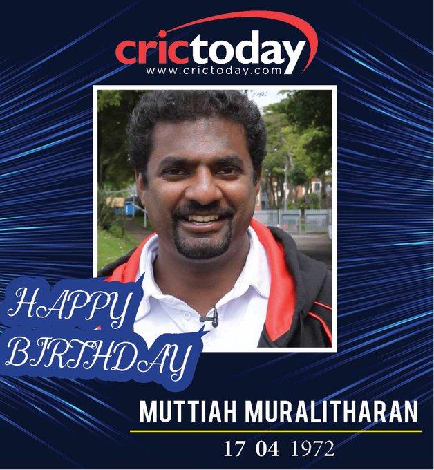 Happy Birthday Muttiah Muralitharan