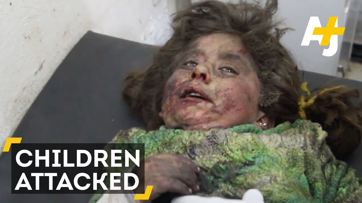 These Syrian children went to get chips from a food truck. The vehicle exploded and killed more than 60 of them.