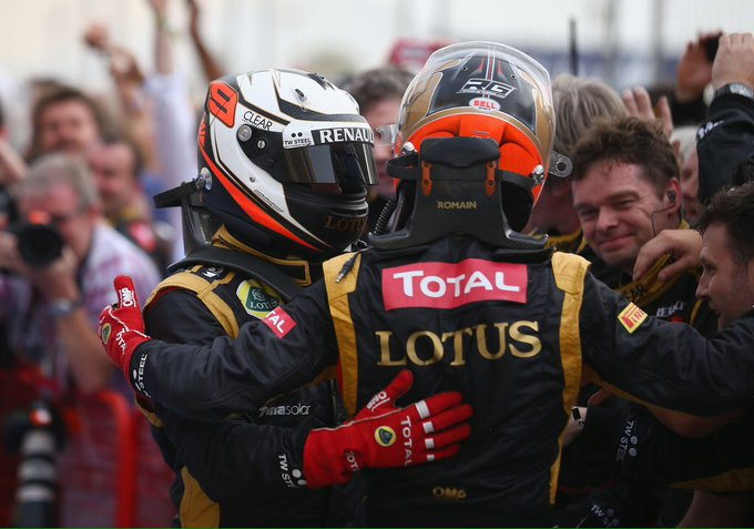 Happy 31st birthday to Kimi\s former teammate, Romain Grosjean!