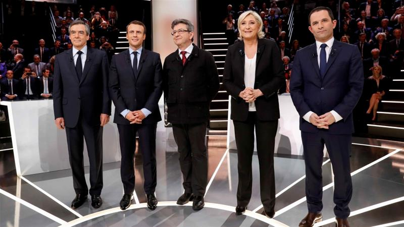 French election: Where do candidates stand on immigration, EU, religion?