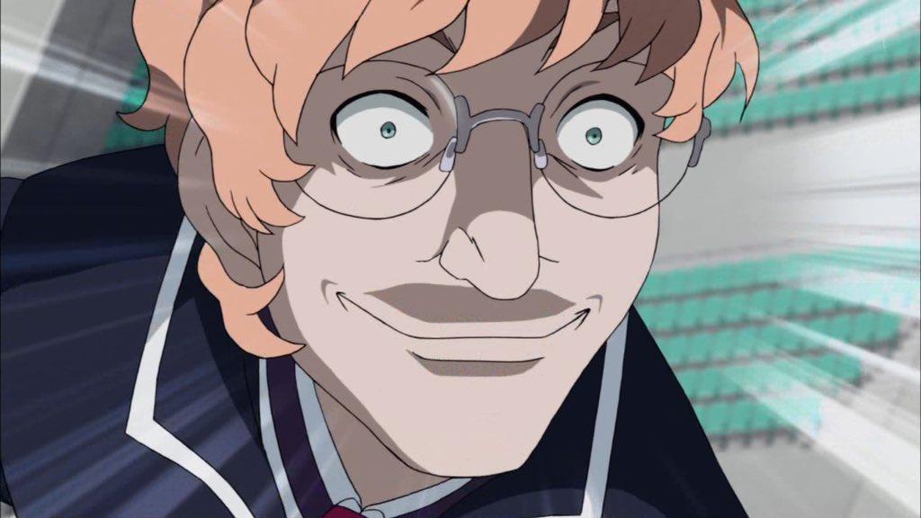 アニメの可愛い女の子見てるときこれになってる(画像は空戦魔導士候補生の教官というアニメのラスボスです)