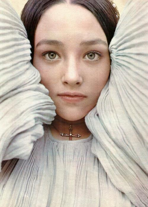Happy birthday to the essence of knock-you-over movie star glitter magic, Olivia Hussey.