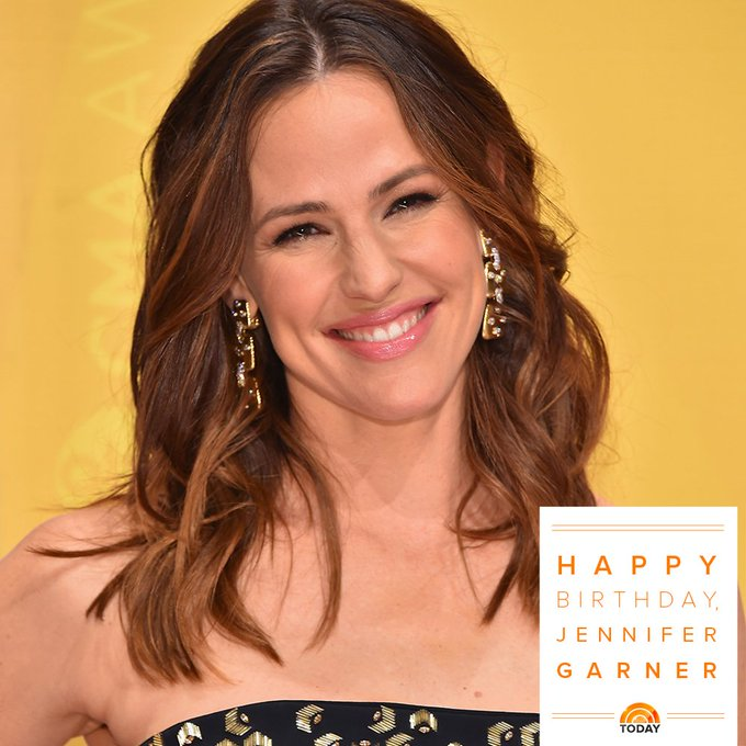 Happy 45th birthday, Jennifer Garner!