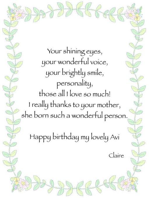 Happy Birthday    Wishing you many,many more happiness!!