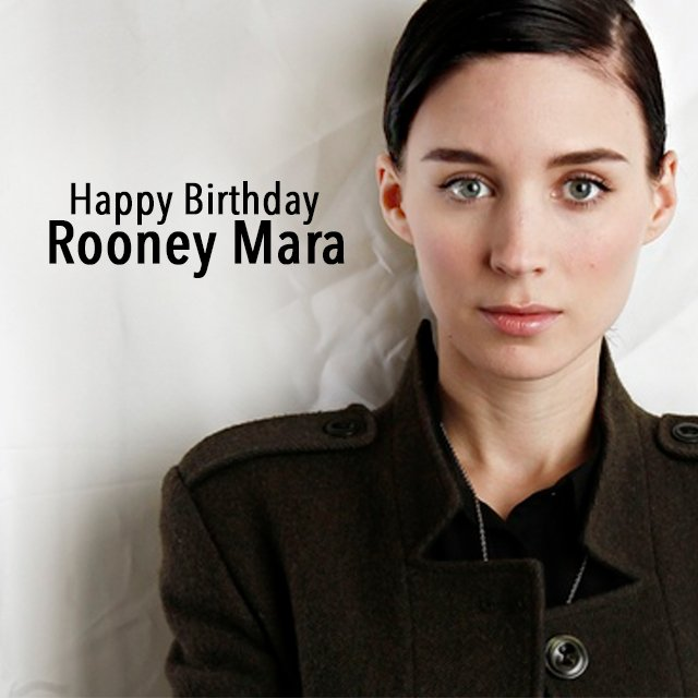 Happy Birthday Rooney Mara! See her in Terrence Malick\s latest film in select cities now!