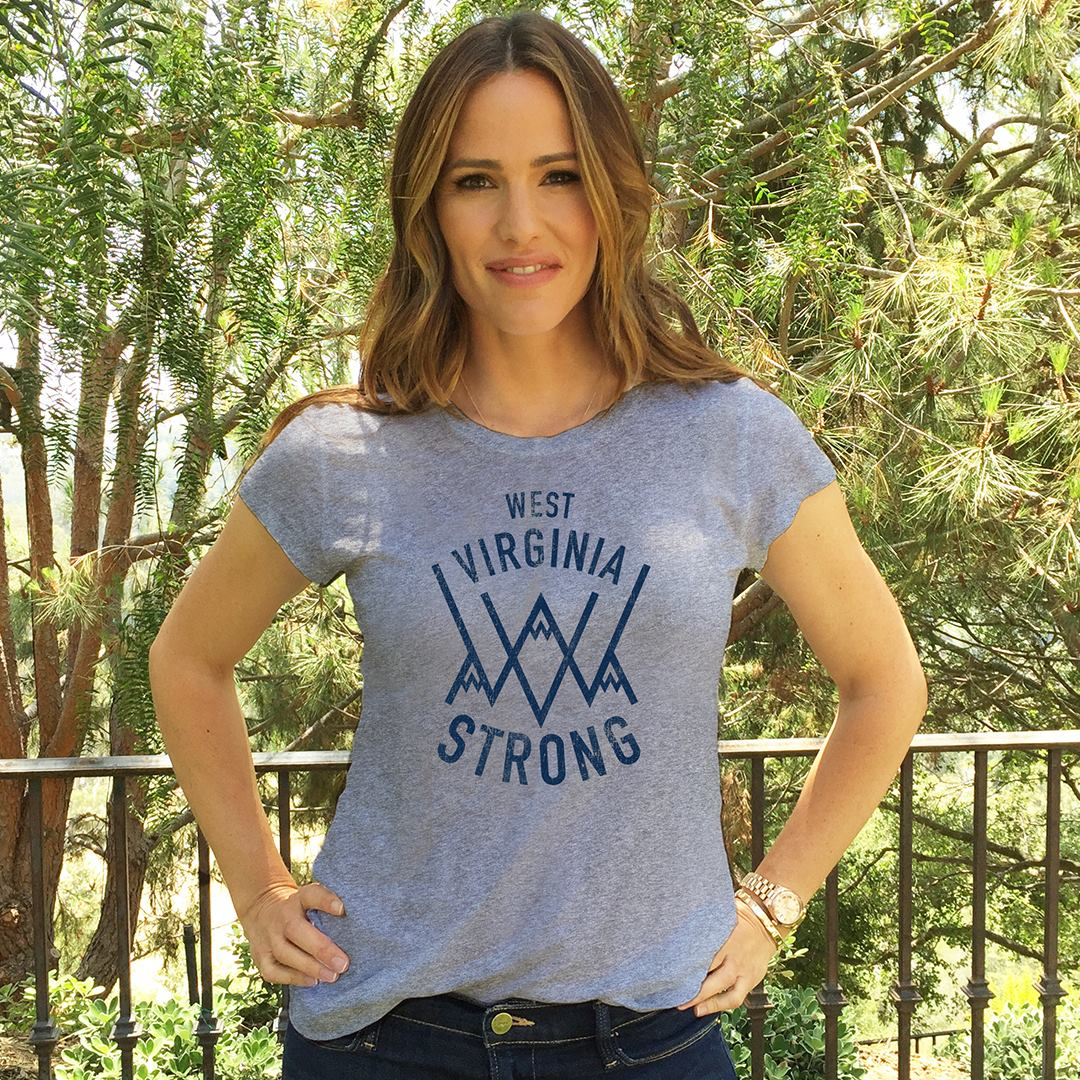 Happy birthday to Jennifer Garner! Thanks for supporting Save the Children & sporting the West Virginia Strong tee.