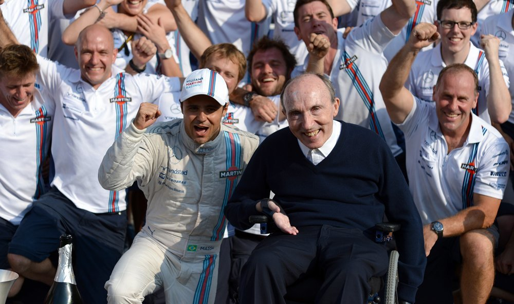 75th Birthday to Frank Williams! (From F1 official message account)