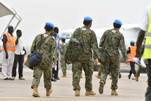 Jepun mula undur 350 tentera dari Sudan Selatan