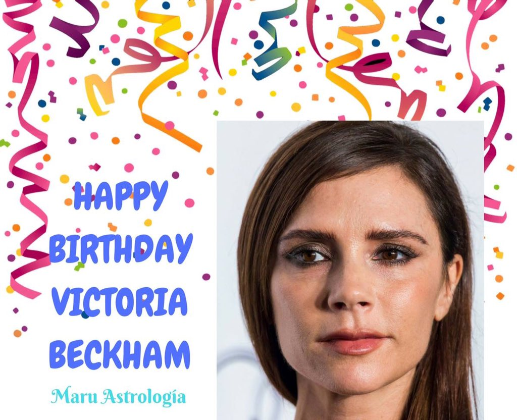 HAPPY BIRTHDAY VICTORIA BECKHAM!!!