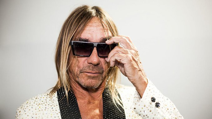 Happy 70th birthday to one of the coolest dudes in rock, Iggy Pop!