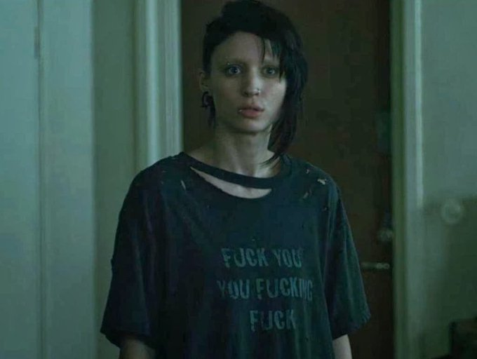 Happy birthday to another Aries who kicks ass...Rooney Mara...