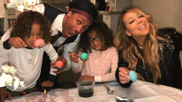 A newly single Mariah Carey celebrated Easter with Nick Cannon as a family: