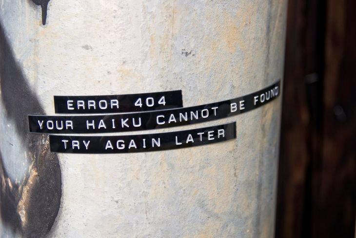 RT @hitRECord: A haiku, about haikus, on #NationalHaikuPoetryDay... https://t.co/HlE5HkhzIl  #HaikusOnHaikusOnHaikus https://t.co/HGFrh9xfIm