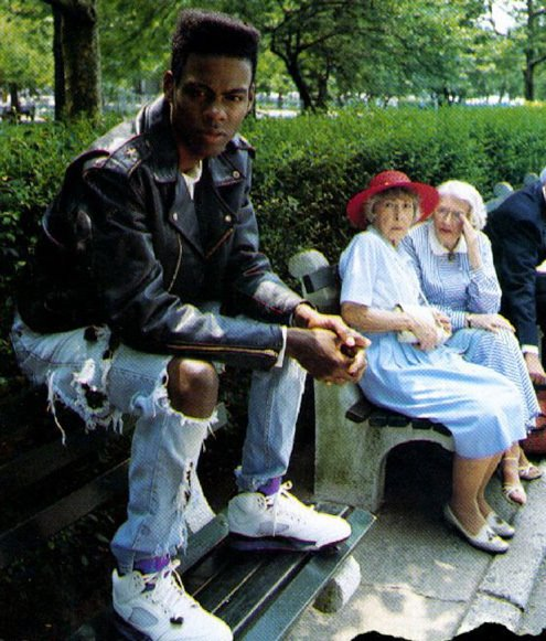 Nah this Chris Rock throwback might be one of the greatest of all time. https://t.co/ElEmuEzEK7