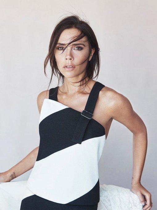 Happy 43rd Birthday to fashion icon, Victoria Beckham!