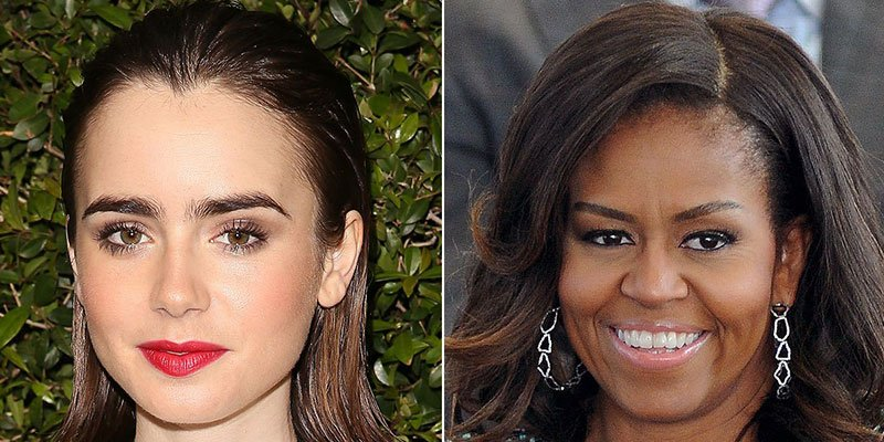 Lily Collins shares sweet thank you letter from Michelle Obama: 'Here's to strong women'