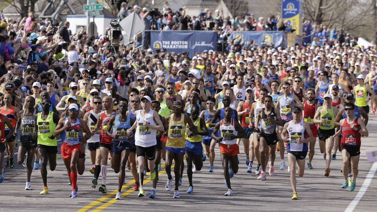 Top moments of the 2017 Boston Marathon