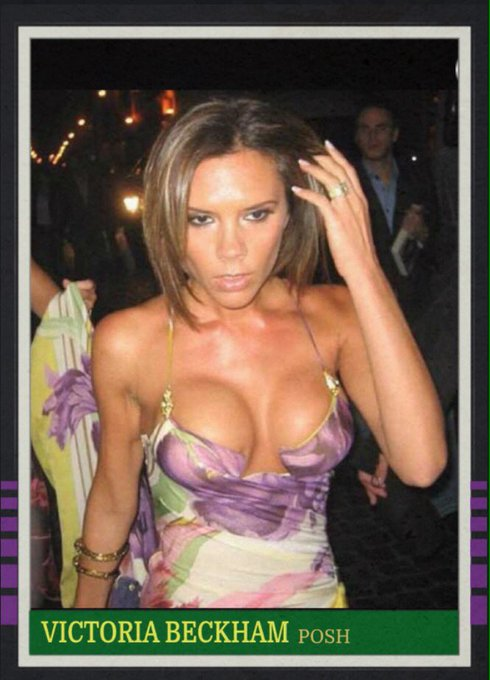 Happy 43rd birthday to Victoria Beckham.