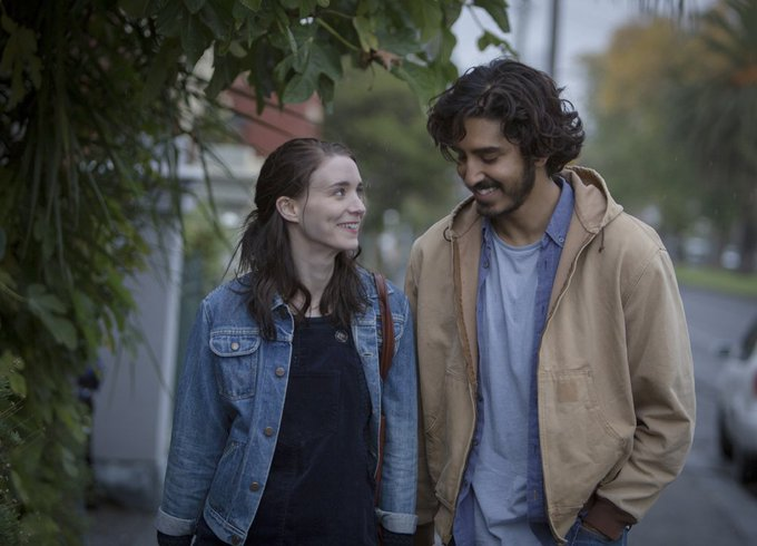 Happy birthday Rooney Mara! Watching her and Dev Patel in last year\s Academy Award nominated LION.