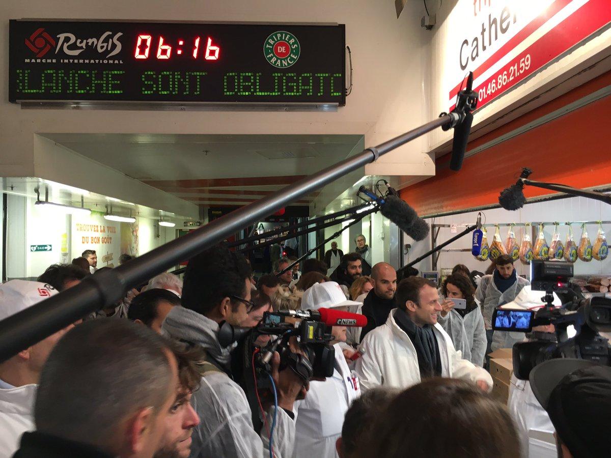 #Macron #Rungis #ReveilQuiPique #TeteDeVeau