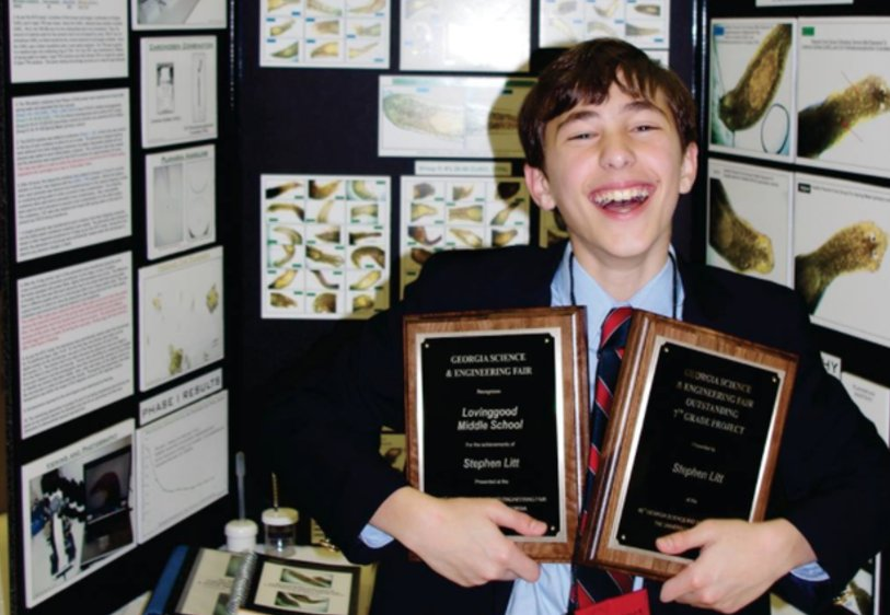 7th-grader's science project finds cancer-fighting chemicals in green tea
