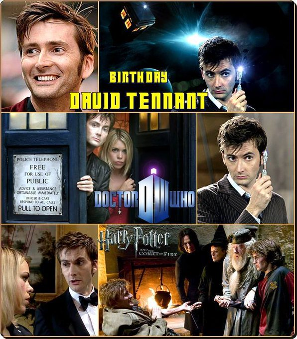 4-18 Happy birthday to David Tennant.