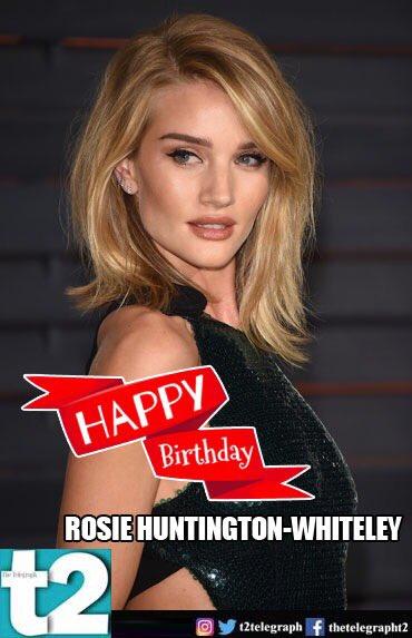 She\s a stunner! Happy birthday, Rosie Huntington-Whiteley!