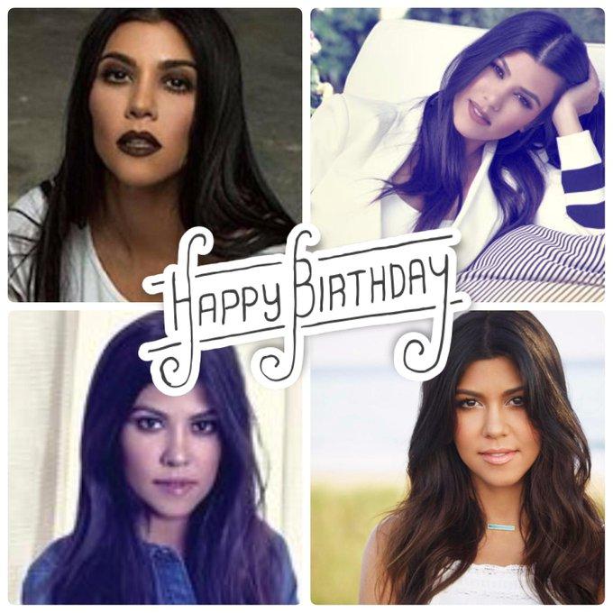 Happy birthday to the stunning, Kourtney Kardashian :)