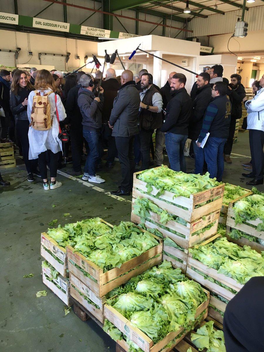 Que des salades. #Macron #Rungis #Quotidien