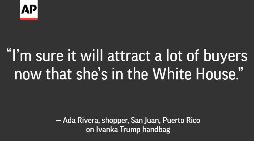 Brand Ivanka flourishing as first daughter embraces politics.