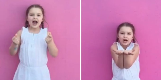 Victoria Beckham shares adorable video of 5-year-old Harper singing Happy Birthday