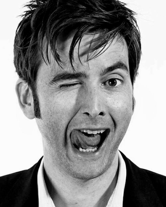 "Happy birthday to former ""Dr Who\"" and \""Broadchurch\"" star, David Tennant."
