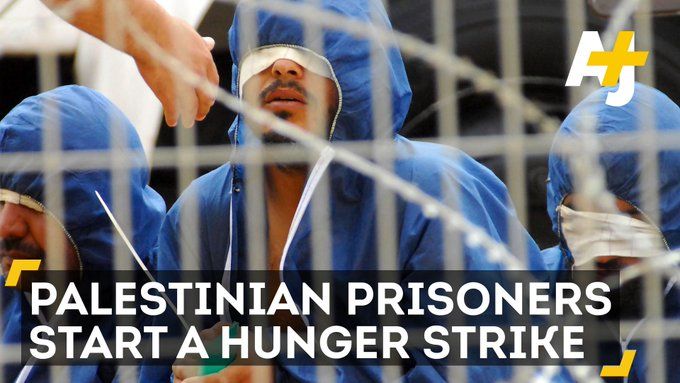 Palestinian prisoners have staged a hunger strike to protest abuse in Israeli prisons and arbitrary arrests.