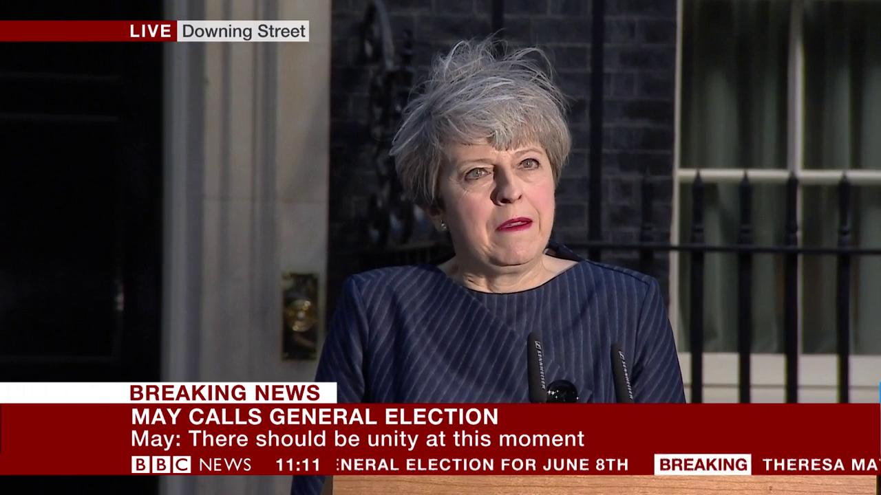 'It was with reluctance that I decided the country needs this election' - Theresa May https://t.co/YU5MtK6YxS https://t.co/dHQPaBjxQD