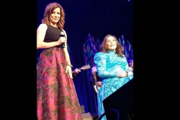 Loretta Lynn Gets Birthday Serenade at the Ryman