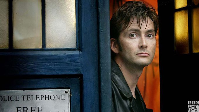 Happy birthday to the Tenth Doctor, David Tennant!
