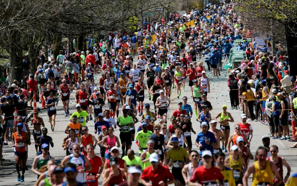 Notable finishers at the 2017 Boston Marathon